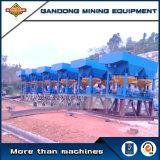 Línea terminada planta surtidor del concentrador del oro del alto rendimiento