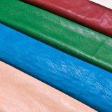 Couro de 2016 sapatas de couro macio das bolsas do couro da mobília do PVC do plutônio dos bens