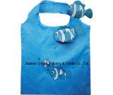 Bolso de compras respetuoso del medio ambiente plegable, bolsos reutilizables, de tienda de comestibles y práctico, promoción, peso ligero, accesorios y decoración