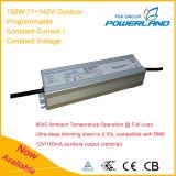 fuente de alimentación constante programable al aire libre de la corriente LED de 150W 71~142V