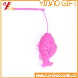 Tè su ordinazione Infuser/sacchetto del silicone di figura dei pesci del commestibile