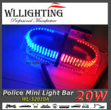 LEIDENE Politie die Mini Lichte Staaf/Lightbar waarschuwen