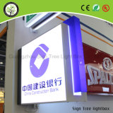 Atacado Outdoor Lighted Shadow Boxes Customized Round Light Box