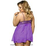 Женское бельё самого последнего цвета Sleevless конструкции 2017 пурпурового сексуальное горячее