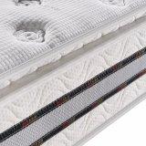 Colchão natural da mola do látex com tampa de tela feita malha (FB732)