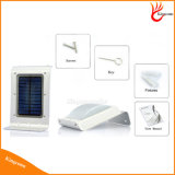 Impermeabilizar la luz al aire libre solar de movimiento de la energía solar de 16 LED del sensor del jardín de la luz de la lámpara solar infrarroja de la seguridad