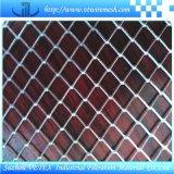 L'acciaio inossidabile ha ampliato la rete metallica utilizzata in strada