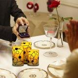LEIDENE zonder vlammen Elektronische Kaars voor de Decoratie en de Gift van het Huis
