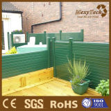 Frontière de sécurité composée en bois matérielle neuve d'extérieur de la bordure DIY de jardin