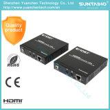 Au-dessus de Cat5e/CAT6 unité d'extension de 4k x de 2k (HD BaseT) 1.4V HDMI