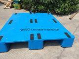 Pálete plástica do armazém com capacidade de cargas pesadas