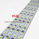 72 LED SMD 8520アルミニウム堅いLEDのストリップ