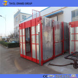 double ascenseur de construction de la cage 1ton