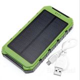 Beste verkaufenprodukte SolarPowerbank 10000 Milliamperestunden-Sonnenenergie-Bank