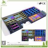 거품 구덩이와 상승 벽을%s 가진 꿈나라 직사각형 실내 Trampolines는, 아이 실내 Trampolines를 주문 설계한다