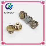 Kreis-Metallerschütterung knöpft Metalltasten-Denim-Jeans-Tasten-Kleid