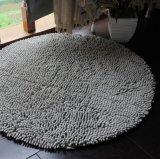 シュニールの高い山のシャギーな居間の床のマット