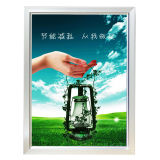 LEDの細いライトボックスの表示を広告する昇進の屋内アルミニウムフレーム