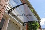 Het Duidelijke Afbaarden van het Polycarbonaat DIY voor Beschermd UV van de Luifel van het Huis van het Venster van de Deur (yy1000-n)