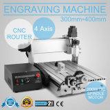 Gravador/gravura do router do CNC 3040t 4axis que mmói cinzelando a máquina