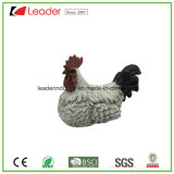 Estátua realística da galinha da galinha de Polyresin para a decoração de Easter