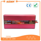 Suoer 2000 Watt Modified Sine Wave Car Solar Power Inverter DC 24V à AC 220V (HAA-2000B)