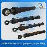Bester chinesischer Hydrozylinder-Hersteller-hydraulischer Kolben-Zylinder für Exkavator/Gabelstapler/Lastkraftwagen mit Kippvorrichtung