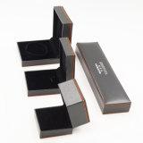 Flannelette que reune a caixa plástica de couro do terno da jóia do plutônio (J70-E1)