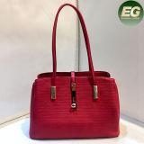 Sacchetto 2017 di Tote di cuoio del progettista del commercio all'ingrosso di modo della borsa della spalla della signora Women PU Sy8033