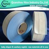 SGSが付いている赤ん坊のおむつの原料のための単一の魔法の側面テープ