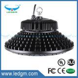 Luces aprobadas de la bahía del UFO de la UL 200W LED altas