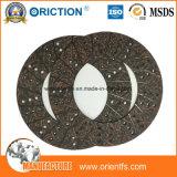 Garniture d'embrayage matérielle de disque de frottement moyen de qualité