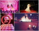 コンサート、結婚式、党3Dミラーの無限ダンス・フロア