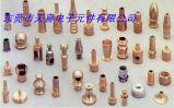 CNC обрабатывая латунную часть CNC штуцера