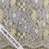 Grosses sieben Blumenblatt-Entwurfs-Spitze-Gewebe für Kleid
