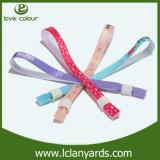 Фабрики Wristbands тканья прямой связи с розничной торговлей популярной напечатанные таможней