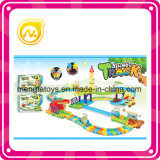 High Quality Small Castle Garden Electric Assemble Toy Block Toy