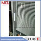 Puerta de vidrio de aluminio Puertas Ventanas Made in China