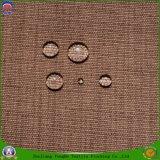 Tela revestida franco impermeável tecida matéria têxtil da cortina do escurecimento do poliéster para o indicador e o sofá