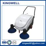 Caminhada atrás da vassoura de estrada do impulso da mão (KW-1000)