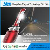 Linterna auto de la cañería del proyector del coche 20W LED 9006 de Fanless de la mejora