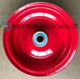 다채로운 강철 변죽 (4.10/3.50-6)를 가진 편평하 자유로운 PU 바퀴