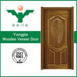 Самая лучшая продавая естественная твердая дверь Veneer
