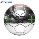 昇進のための銀製ミラーの署名のサッカーボール