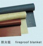 Anti cobertor resistente de alta temperatura do incêndio do silicone da vara