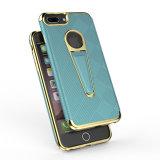 2017 produits tendants plaquent la caisse de téléphone avec Kickstand pour l'iPhone 7