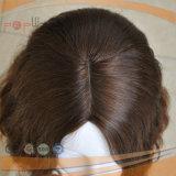 Красивейшая надкожица Intact на парике нетронутого цвета волос девственницы Silk верхнем еврейском Kosher