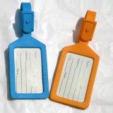 Étiquette nommée de couleur d'étiquette faite sur commande simple de bagage pour l'usage d'hôtel