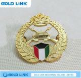 Kundenspezifisches Metallabzeichen-Höhlung-Reverspin-Schule-Armee-Emblem