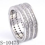 Anello di qualità superiore dell'argento dei monili di modo del prodotto